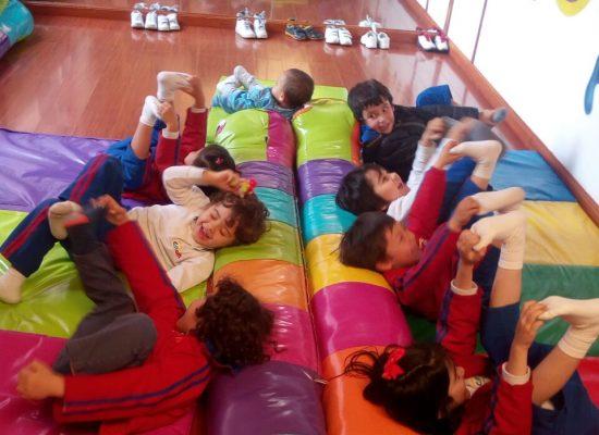 5. FOTO VIÑETA 1 Niños ejercicio